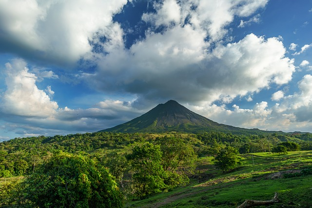 Blick auf_Vulkan Arenal_Costa Rica Reise