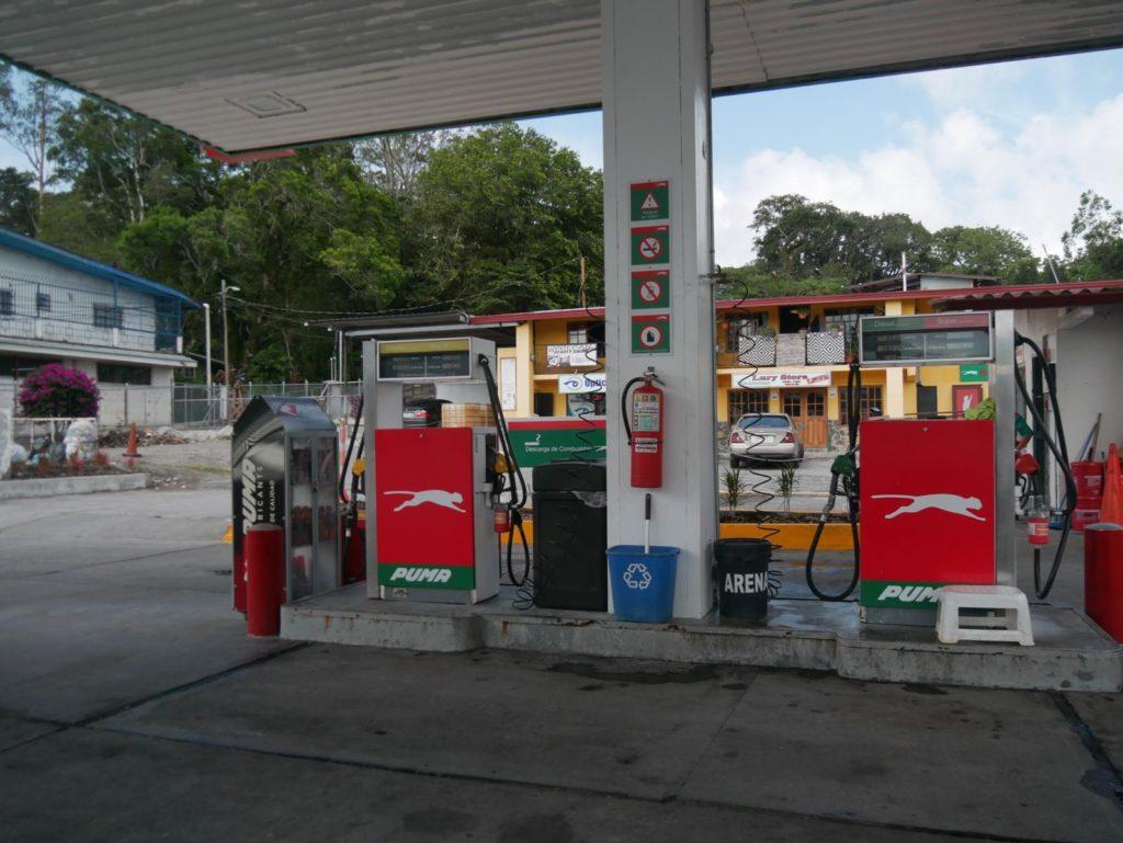Tankstelle_Panama_Volcan_Panama_Mietwagenreise