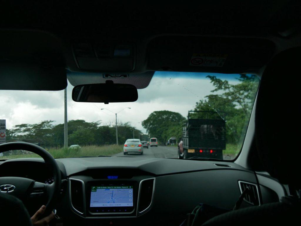 Route und Fahrtzeit_Panama Mietwagenreise