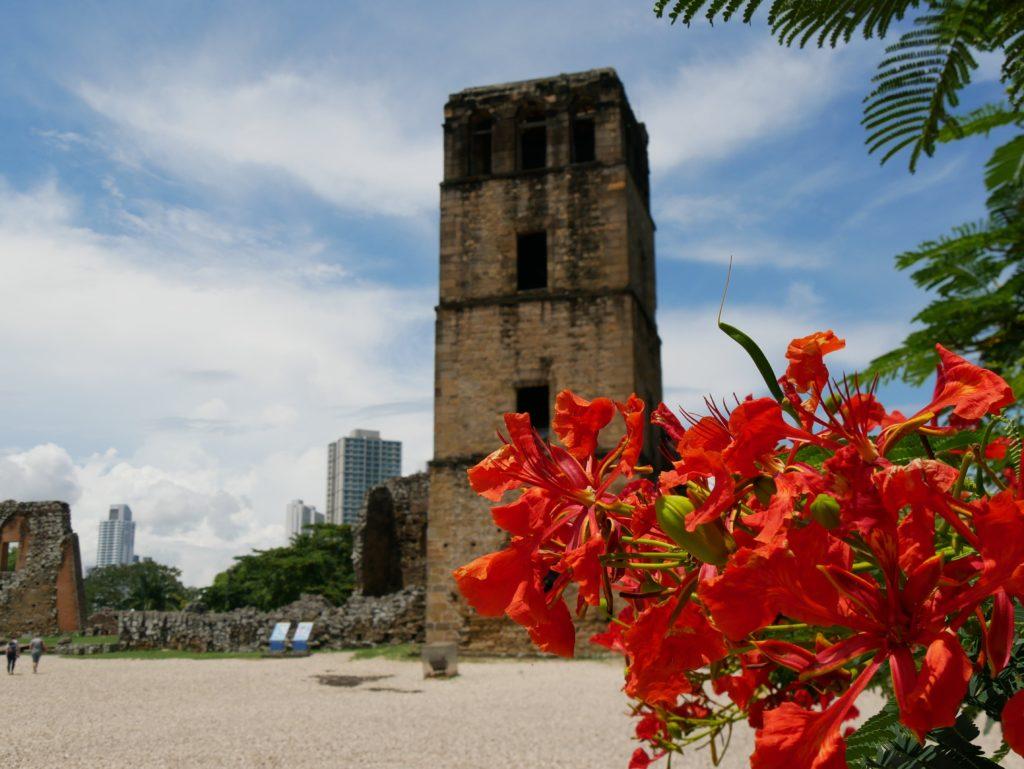 Ruinen der Kathedrale von Panama Viejo