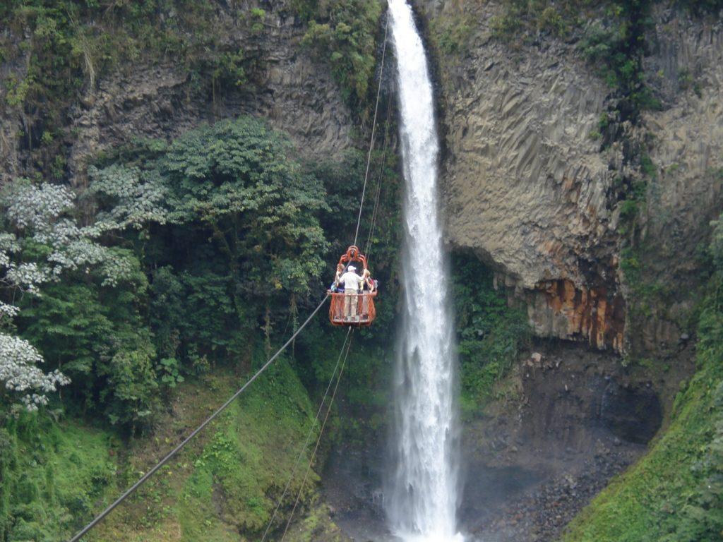 Pailon del Diablo Ecuador Reisebericht
