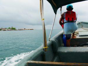 Anreise San Blas mit dem Boot