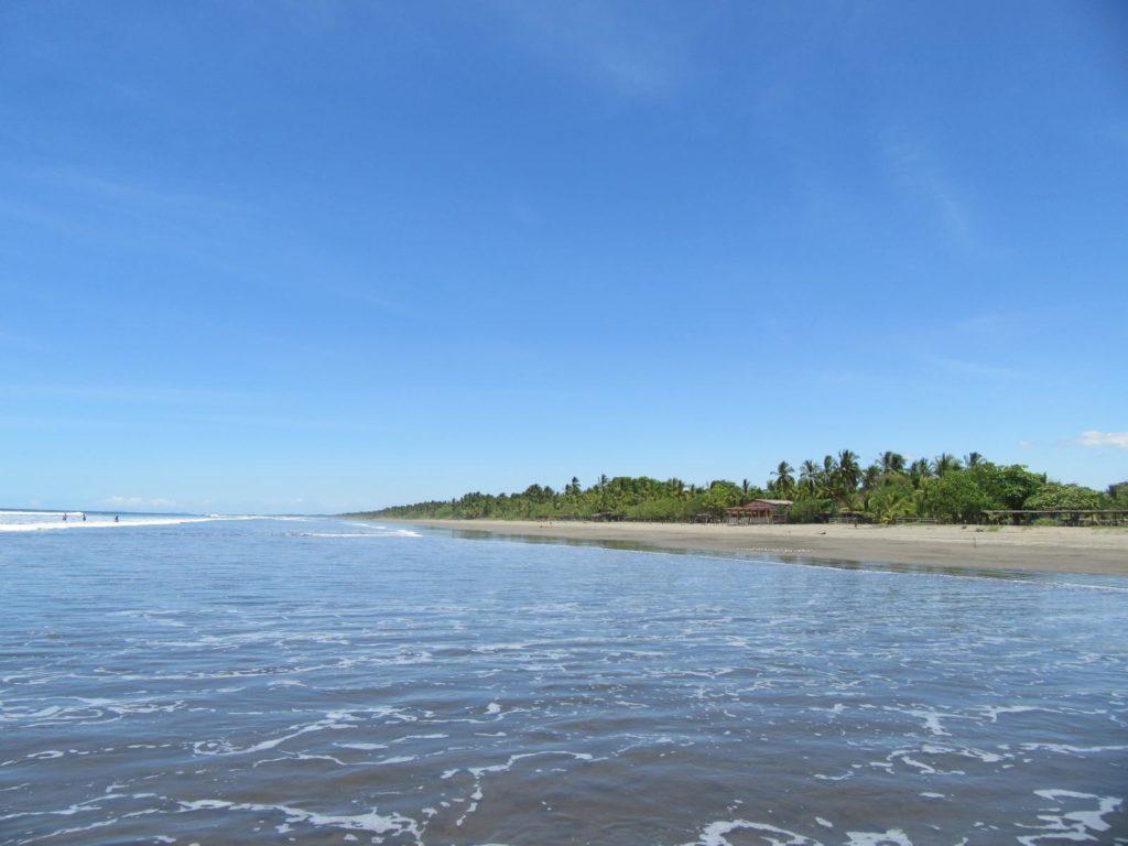 Blick auf Strand_Las Lajas_vom Pazifik