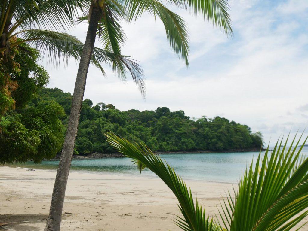 Panama Strand Insel Coiba