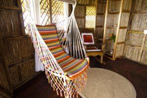 Hängematte Zimmer Yandup Island Logde San Blas Inseln_Panama