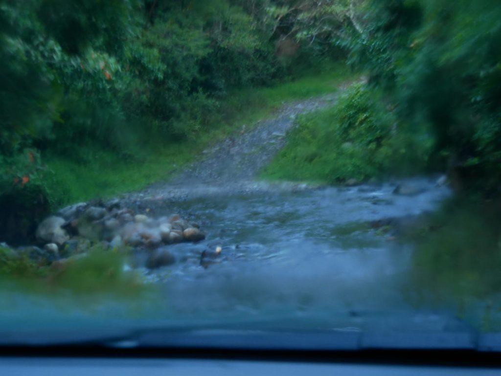 Straße Mount Totumas Lodge_Panama