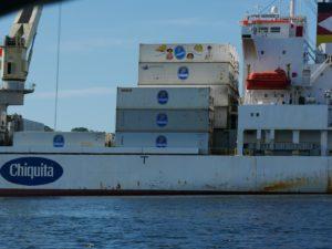 Anfahrt Isla Colon_Chiquita Hafen