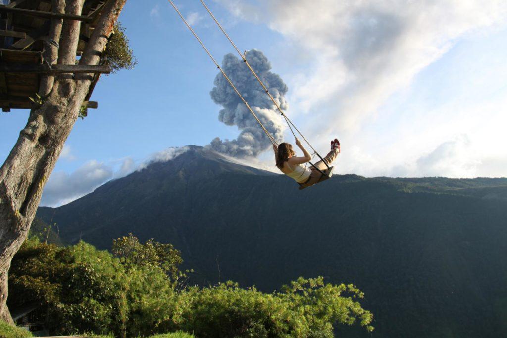 Schaukel am Ende der Welt_Banos_Familienreise_Ecuador