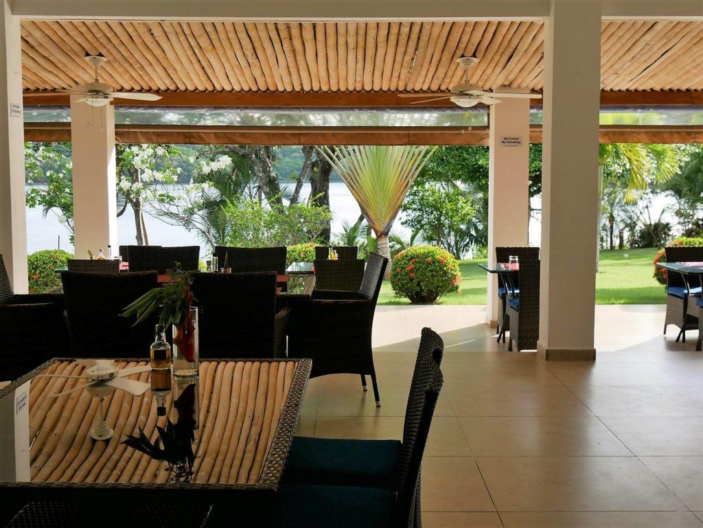 Restaurant_HotelBocaChica_Panama Urlaub
