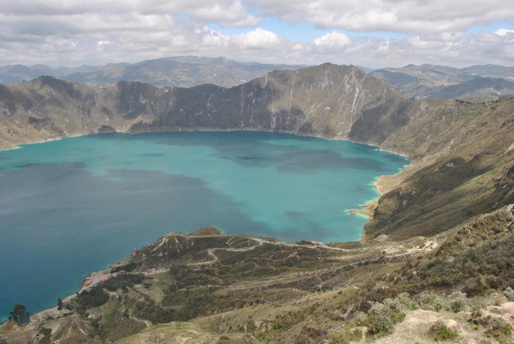 Blaue Lagune_Quilotoa_Ecuadorreise