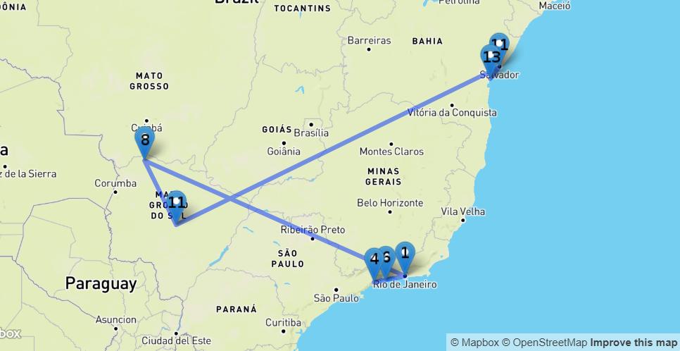 Karte_Urlaub_Brasilien_Route_Südbrasilien_Gonjoy