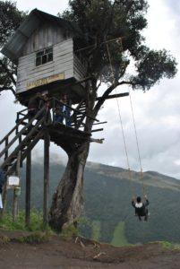 Schaukel Ende der Welt_Ecuador_Reise