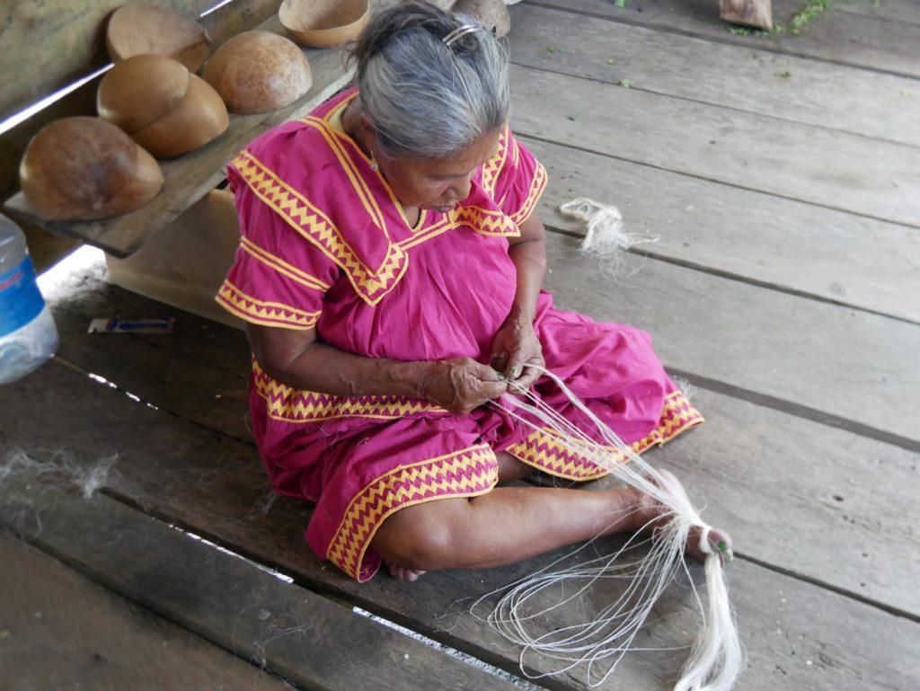 Indigene_Handarbeit_Panamareise