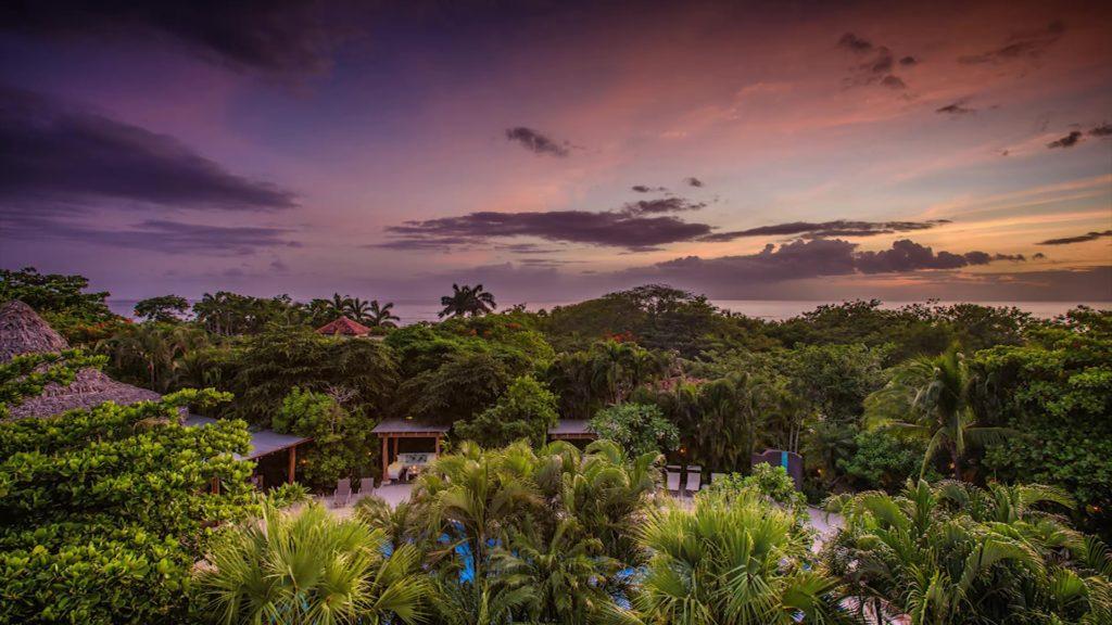 Aussicht Hotel Cala Luna Costa Rica
