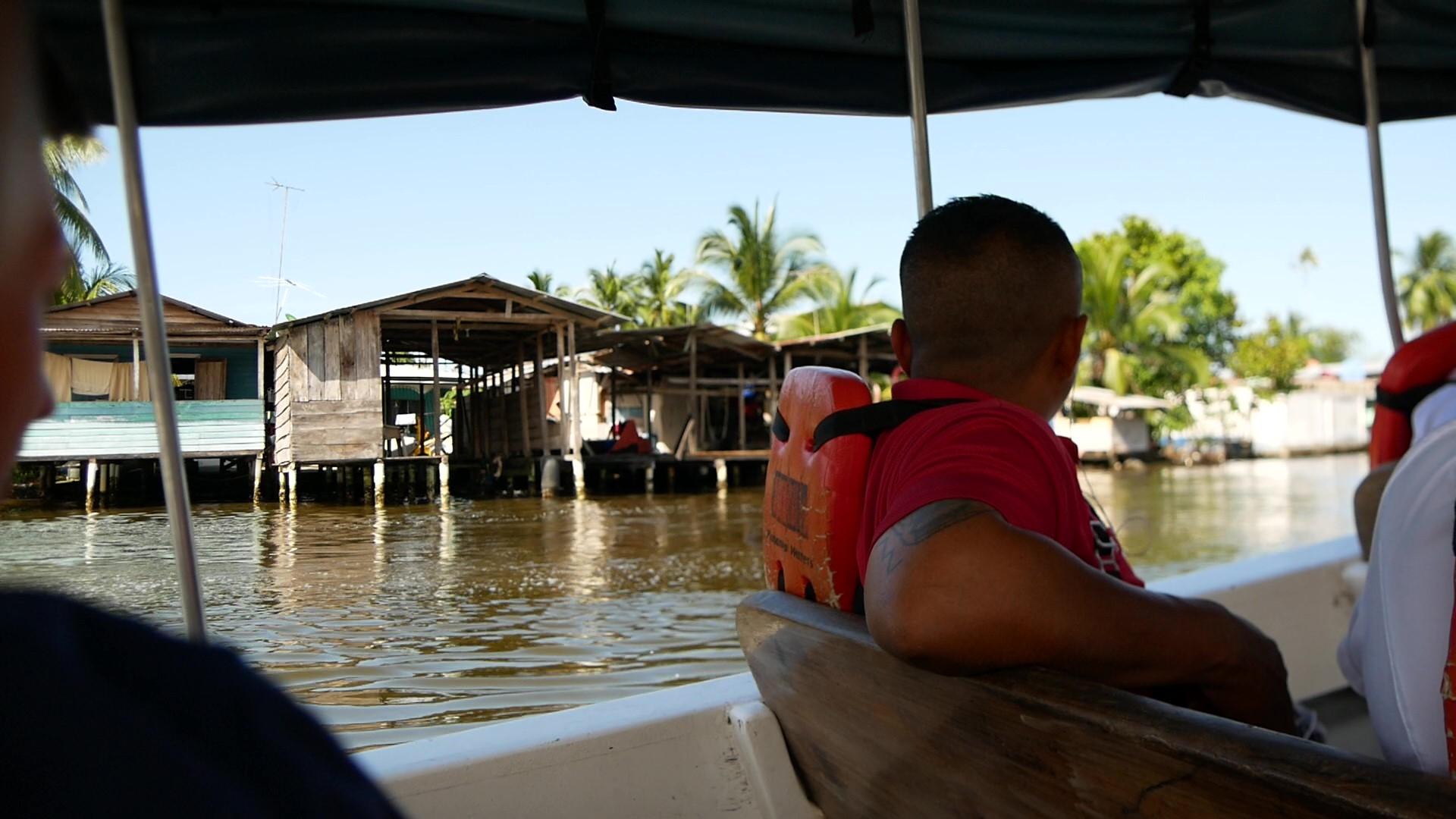 Bocas del Toro Anfahrt_Wassertaxi_Panama Reise
