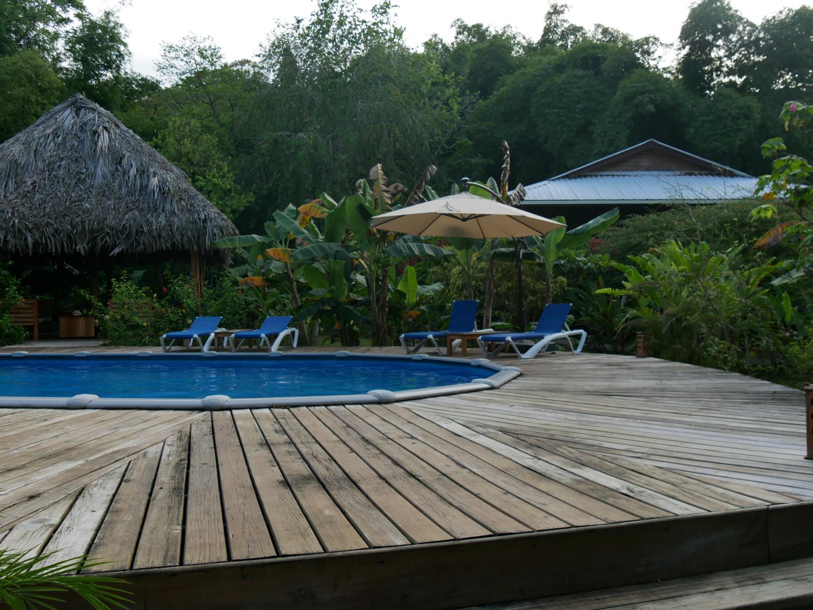 Unterkunft mit Pool Bocas Panama Reise