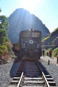 Ecuadorreise Flitterwochen Zugfahrt