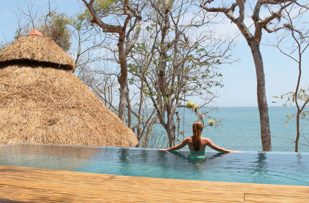 Entspannung Pool Panama Hochzeitsreise