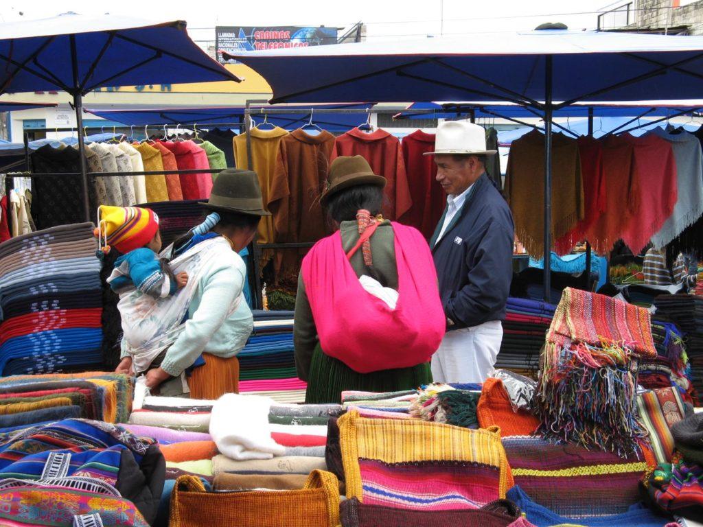 Indigene Handwerksmarkt Otavalo