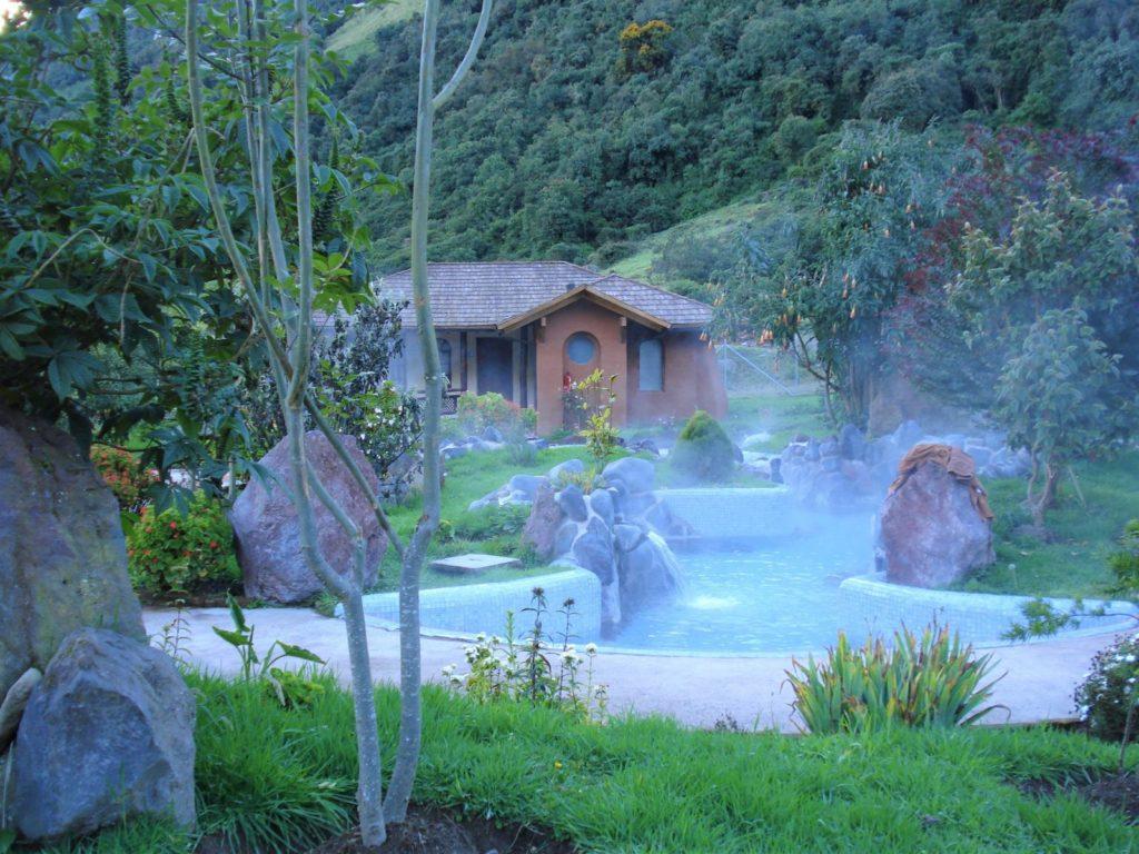 Thermalquellen Ecuador Reise