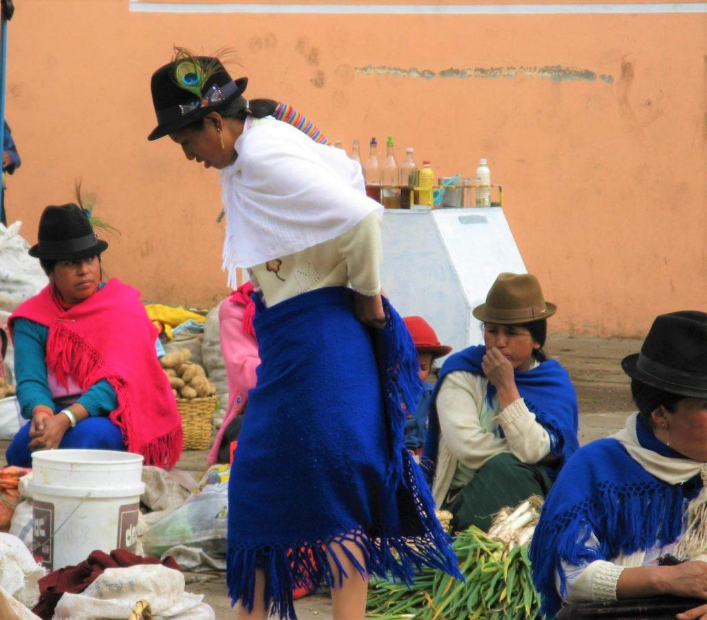 Indigener Markt Cotopaxi Ecuador Reisebericht
