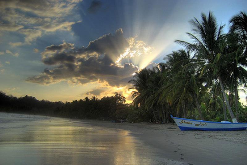 Sonnenuntergang Giada Samara Costa Rica Reise