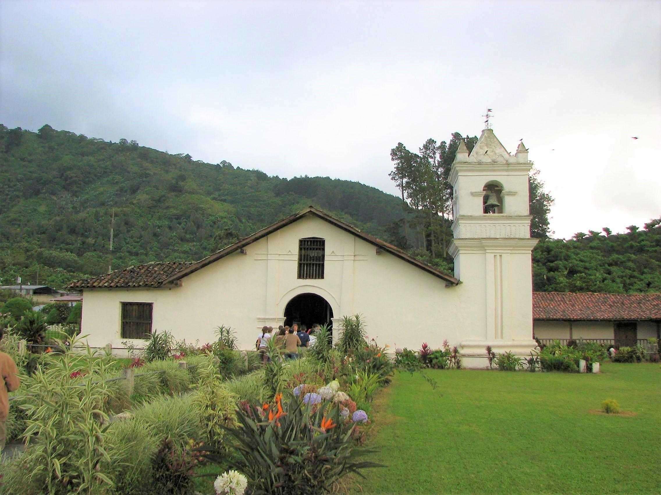 Fahrrad Reise Costa Rica Kirche Orosi