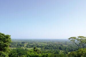 Ausblick Palenque Mexiko Reise
