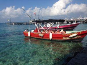 Boot Isla Mujeres Mexiko
