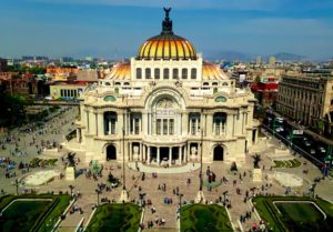 Palacio de Bellas Artes Mexiko Reise