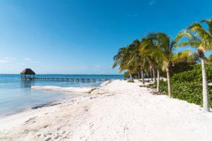 Strand Riviera Maya Mexiko