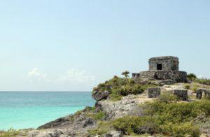 Blick auf Meer Yucatan Halbinsel Mexiko Reise