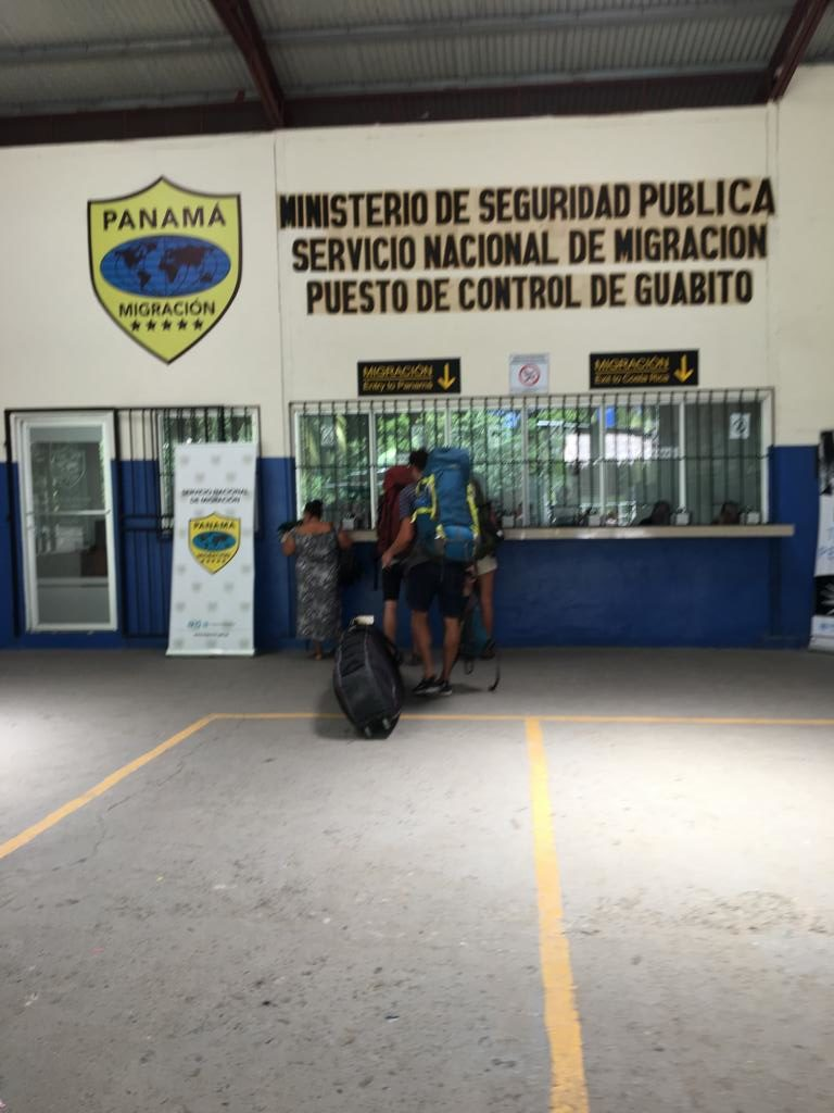 Ausreise und Einreise Panama Costa Rica in Sixaola