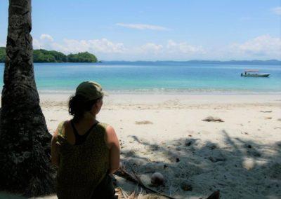 Blick auf Inseln Chiriqui Boca Chica