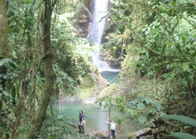 Sehenswürdigkeit Panama Santa Fe Wasserfall