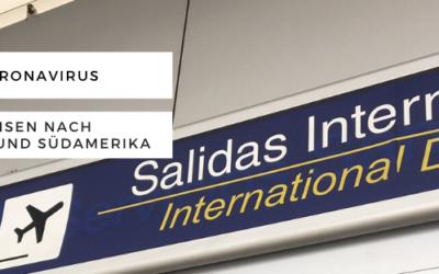 Coronavirus und Reisen nach Mittel- und Südamerika