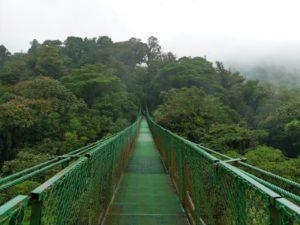 Hängebrücke Monteverde Costa Rica Gruppenreise