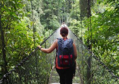 Hängebrücken Costa Rica Familienreise Naturamerica Reisen