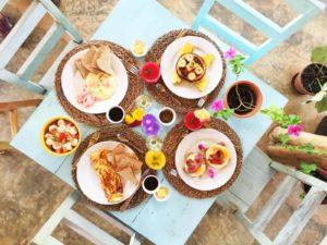 Frühstück Villa Coco Santa Catalina
