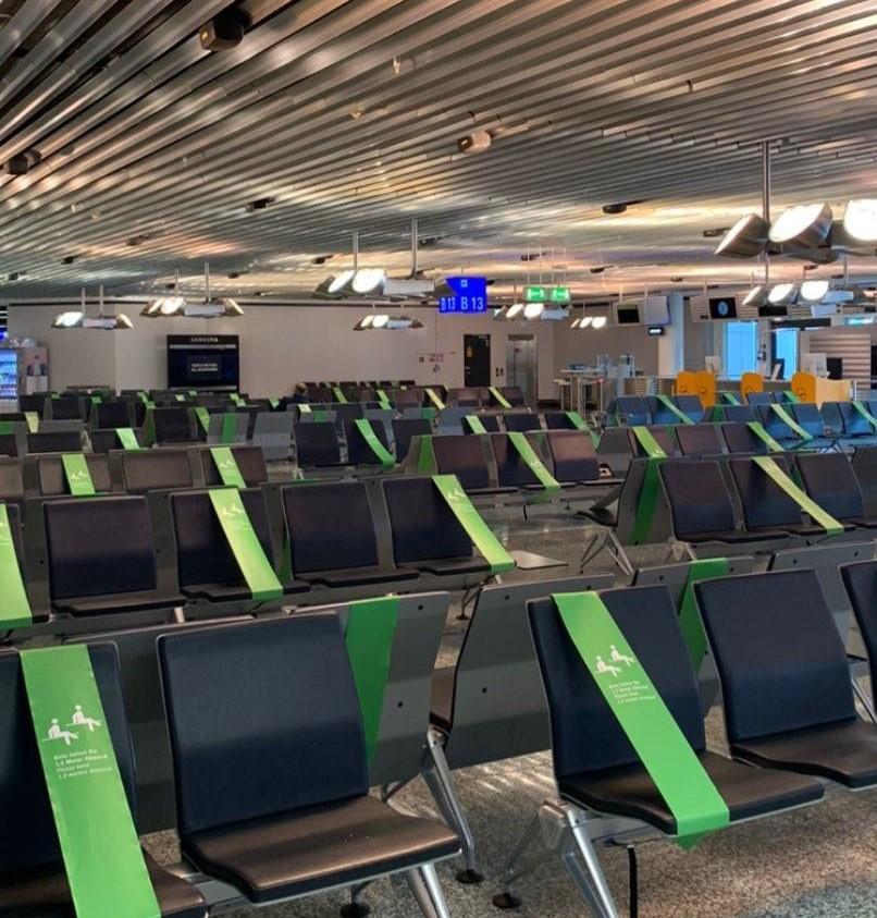 Flughafen Frankfurt Sicherheitsabstand Costa Rica Reise