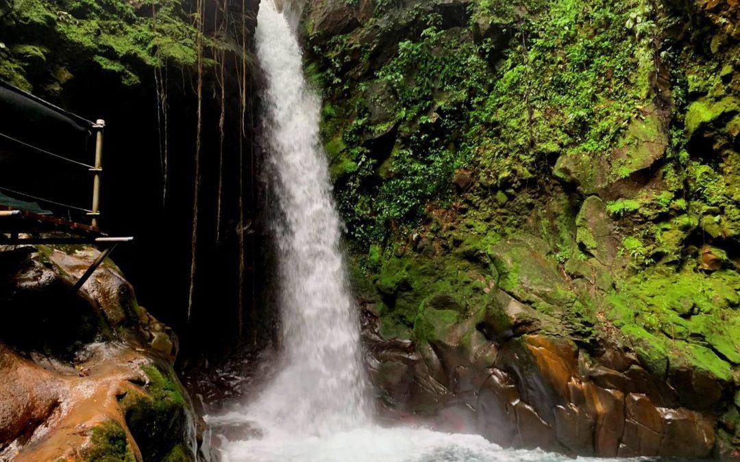 Wasserfall Hacienda Guachipelin Reiebericht Costa Rica